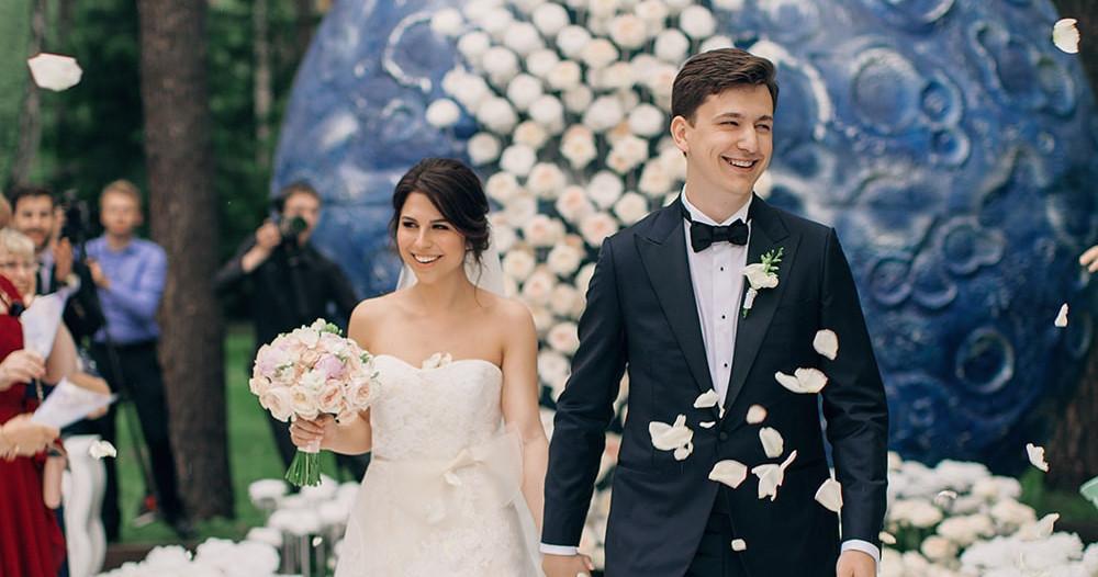 Свадьба Константина и Сауле по мотивам сказки